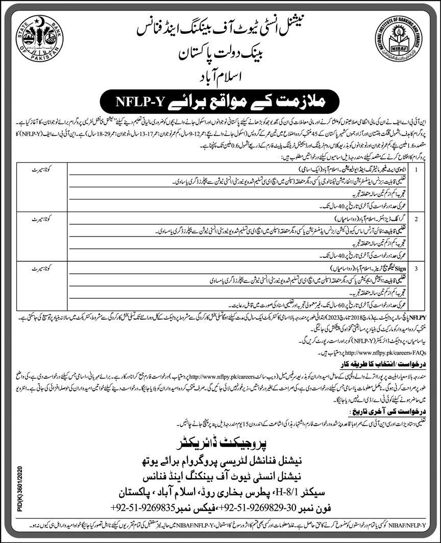 Jobs in State Bank of Pakistan 2021
